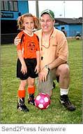 Dan Murphy with daughter