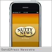 Nutty News iPhone app