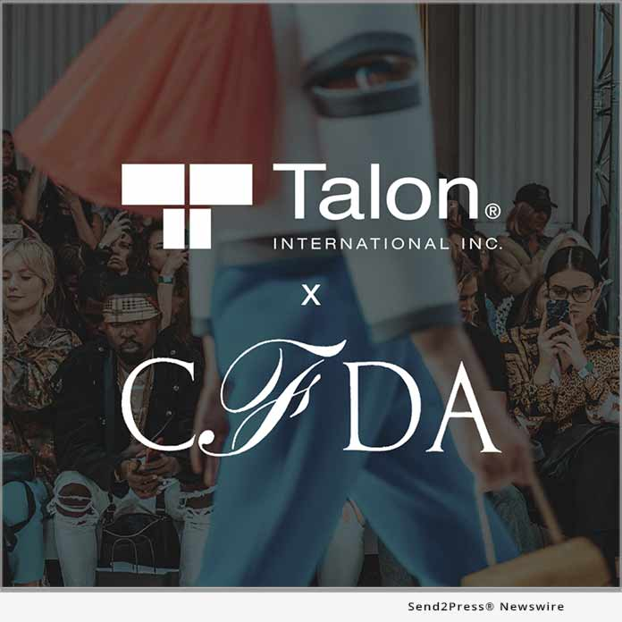 Talon International Joins The Council Of Fashion Designers Of America Cfda Supply Chain Collective Enewschannels News