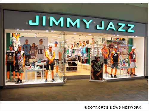 jimmy jazz the hip hop inspired apparel and shoe retailer announces new store opening in n j. Black Bedroom Furniture Sets. Home Design Ideas