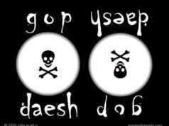GOP Daesh flag 2016