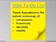 USA's To-Do List