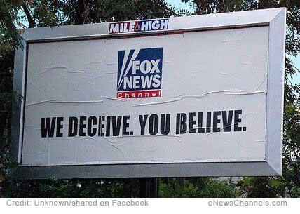 We Deceive. You Believe. FOX.