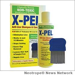 X-PEL lice treatment