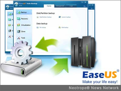 eNewsChannels: data backup and recovery