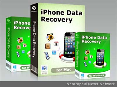 Get back broken or lost iPhone files with Tenorshare updated iPhone Data Recovery for iOS 7