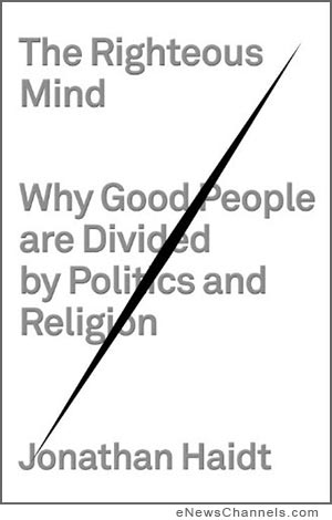 'The Righteous Mind' by Jonathan Haidt