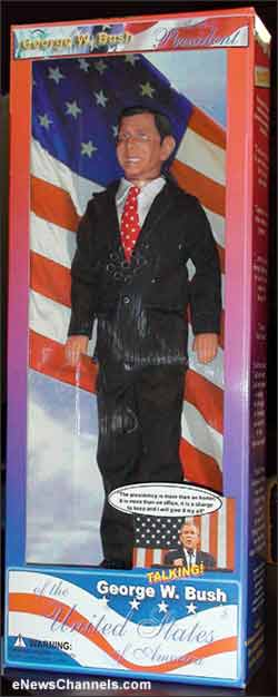 George W. Bush Talking Doll