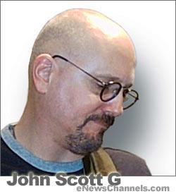Author john Scott G - CREDIT: Brian Forest