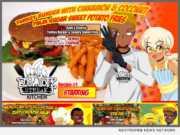 Blackstreak Kitchen Comics