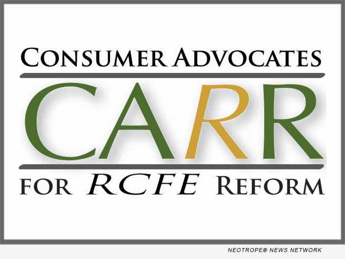 Consumer Advocates for RCFE Reform