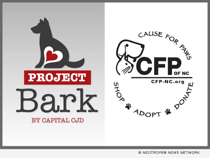 Project Bark 2018 In North Carolina: Capital Chrysler Jeep Dodge RAM Teams  Up With Cause For Paws Of NC | ENewsChannels News