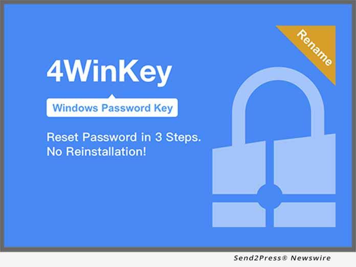 Tenorshare Windows Password Key Renamed to 4WinKey - Reset Forgotten