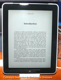 Kindle Reader App for iPad