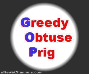 Greedy Obtuse Prig PIN