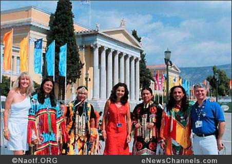 Native Americans at the 2004 Athens Olympics