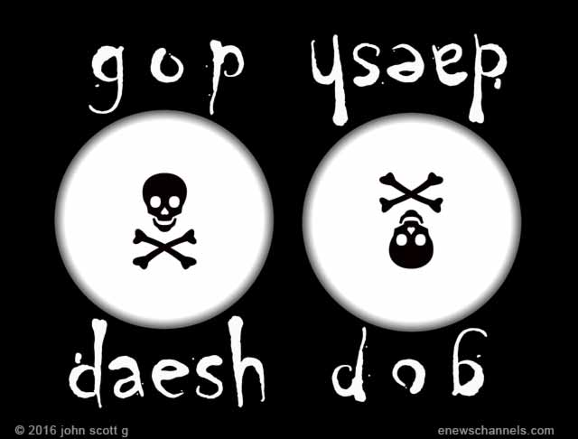 GOP Daesh flag 2016