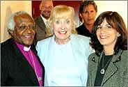 Desmond Tutu, Betty Williams and Debi Wexler