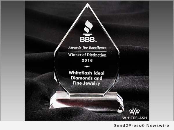 2016 BBB Winner of Distinction
